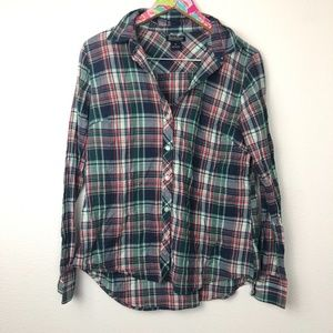 Lucky Brand plaid top size M // 1335